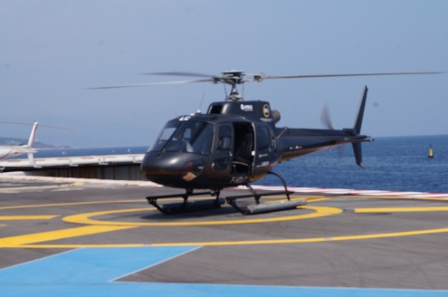 Helicopter transfer